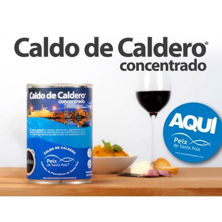 Caldo de Caldero Concentrado Peix de Santa Pola 425g..