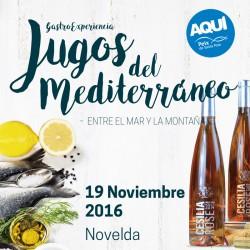 Jugos del Mediterráneo Gastro Experiencia