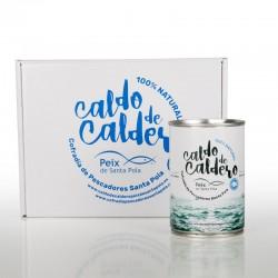 Caldo de Caldero 100% Natural Concentrado Peix de Santa Pola 425g..