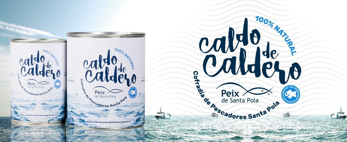 COmprar Caldo de Caldero 100% Natural Peix de Santa Pola